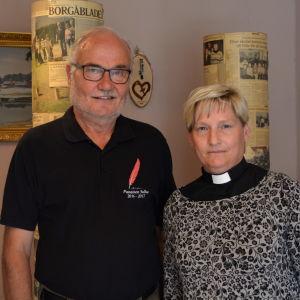 Bertel Mårtenson och Stina Lindgård.