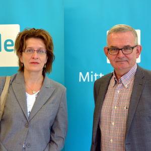 Leena Kaunisto och Thomas Öhman