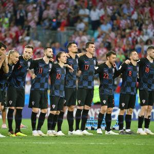 Skandal skakar om i Kroatiens trupp dagen innan VM-semifinalen.
