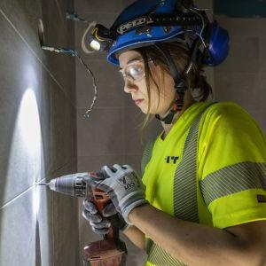 Inka Godenhjelm, talonrakennusalan opiskelija, Espoo