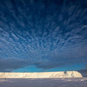 Isberg i Antarktis.