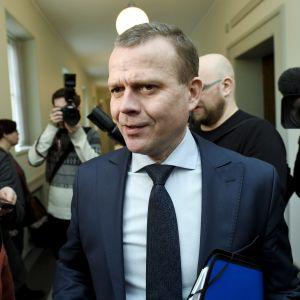 Samlingspartiets ordförande Petteri Orpo.
