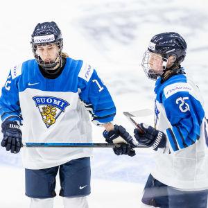 Elisa Holopainen och Viivi Vainikka imponerade stort i VM.