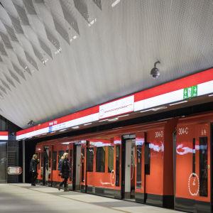 Mattby metrostation
