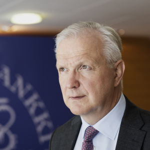 Olli Rehn fotograferad 11.6.2019.