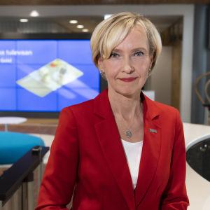 Sara Mella henkilöasiakasliiketoiminnan johtaja, Nordea
