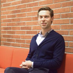 Jon Lindström, turistchef i Hangö.