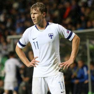 Rasmus Schüller i landslaget.