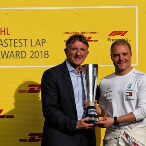 Valtteri Bottas körde snabbaste varvet i Abu Dhabi ifjol.