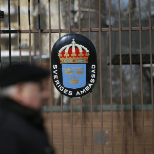 Sveriges ambassad i Moskva.