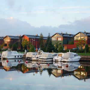 Västra åstranden i Borgå
