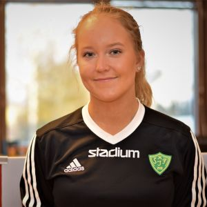 Porträttbild på Moa Wasström.