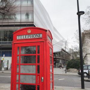 Telefonbås i London