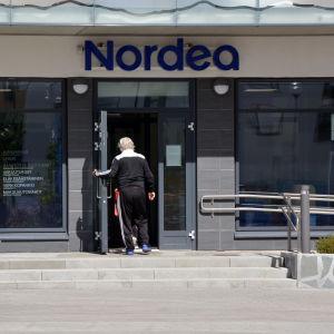 Nordeas bankkontor i Nickby