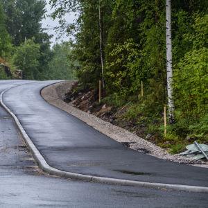 Lätttrafikleden Mellan Eriksnäs och Sibboviken
