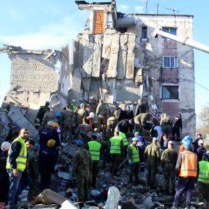 Jordbävning i Albanien