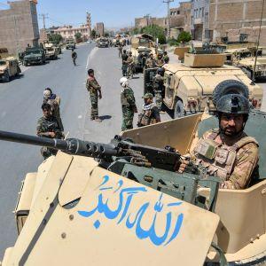 Afghanistanska soldater.