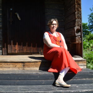 Postbackens verksamhetsledare Marit Björkbacka.