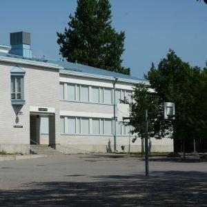Skolan Linnajoen koulu i Borgå