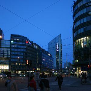kvällsskymning i Oslo