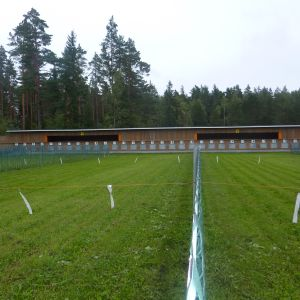 Ingå skjutbana invigdes 3.9.2010.