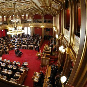 Minnesstund i Stortinget 1.8.2011.