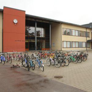 Huutjärven skola i Pyttis.