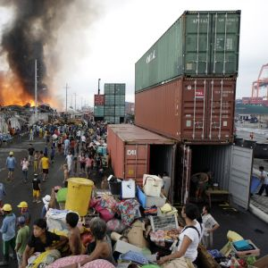10 000 evakuerades