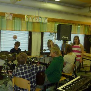 Elever i Gerby musikskola