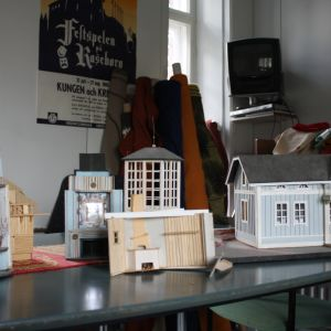 Miniatyrmodell av scen