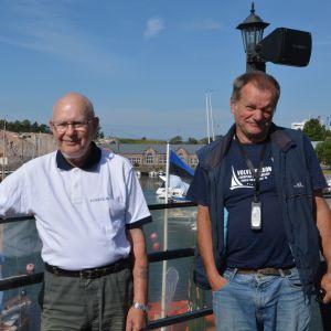 Thore Strandback firar 50 år som regattaorganiserare.
