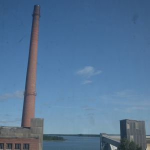 Fabrikens kraftverk.