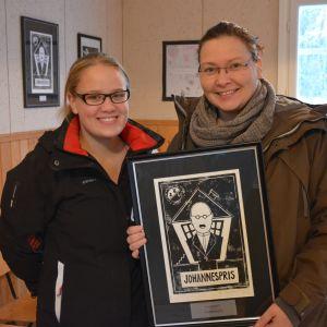 Malin Nyström och Ulrika Nabb från Österhankmo UF