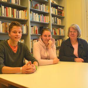 Eemeli Repo, Theresa Björkqvist, Eija Rosvall