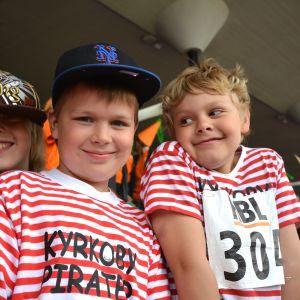 Vanda pirater från Kyrkoby skola.