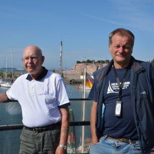 Kommodor Kalle Niemi är tävlingschef för regattan.