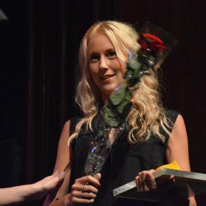 Frida Anderson fick utnämningen Årets kvinnliga artist.