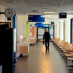 Korridor på VCS akutpoliklinik