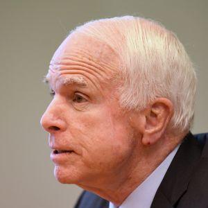 Republikanska politikern John McCain.