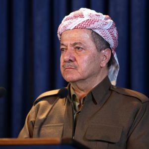 Irakiska Kurdistans president Massoud Barzani.
