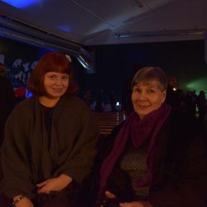 Ingåborna Rosita Ahlgren och Lilli Enoksson var nöjda efter programmet.