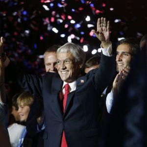Miljardären Sebastián Piñera återvänder till presidentposten som han innehade från år 2010 till 2014