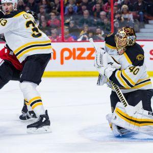 Tuukka Rask storspelade i NHL.