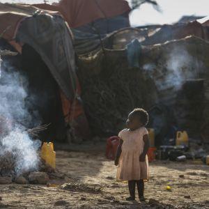 Flyktingläger i Puntland, Somalia 27.3.2017