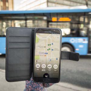 Whim aplikaatio ja bussi
