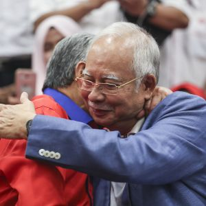 Malaysias tidigare premiärminister Najib Razak.