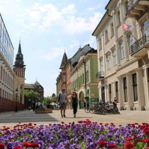 I staden Subotica i norra Serbien hoppas många på ett EU-medlemskap