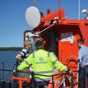 Säkerheten på lotsbåtar förbättras efter olyckan 2017