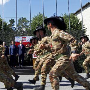 Natosoldater i Lettland
