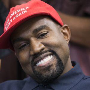 Kanye West i Vita huset.
